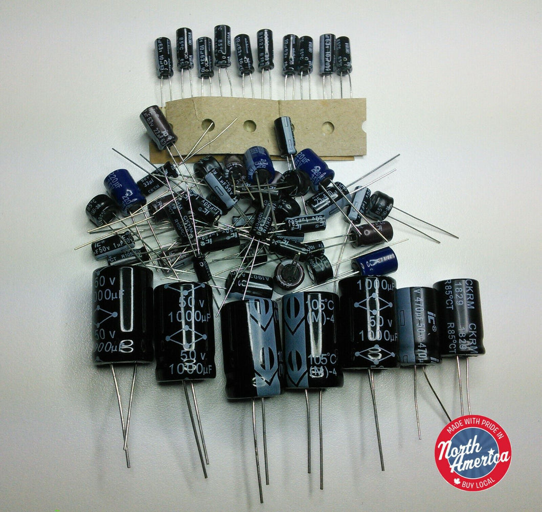 Yaesu FT-77 electrolytic capacitor kit