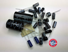 Load image into Gallery viewer, Realistic TRC-49 (21-149) electrolytic capacitor kit