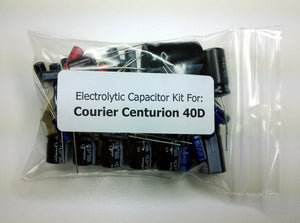 Courier Centurion 40D electrolytic capacitor kit