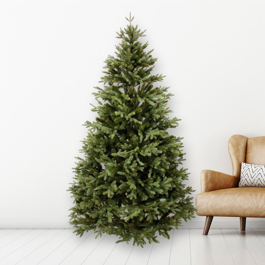7ft Luxury Slim Real Tree