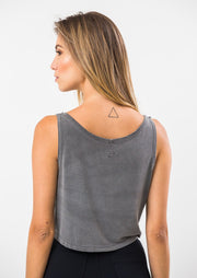 Cropped Regata Bordado In Heart