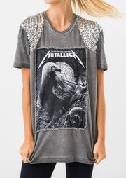 Camiseta Estonada Metallica