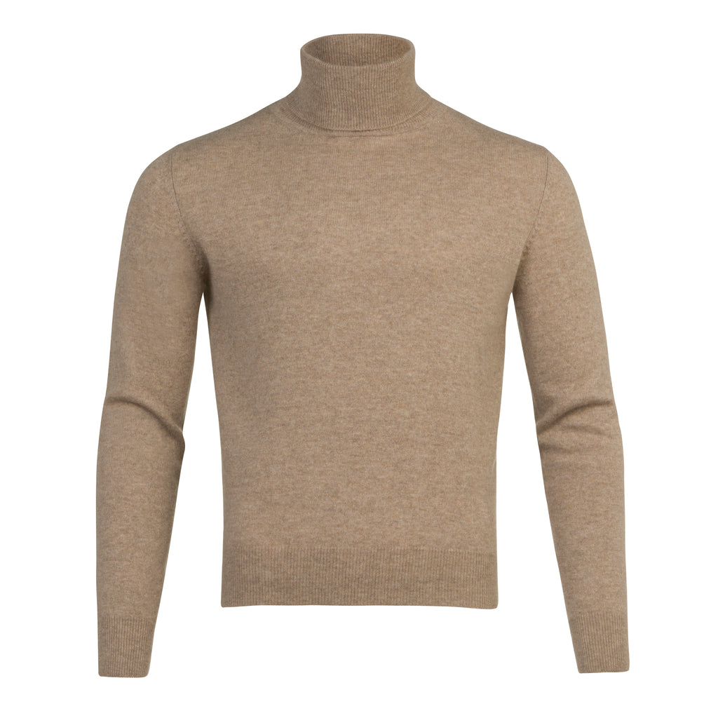 Men's Turtle Neck in Oatmeal