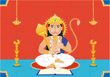 Load image into Gallery viewer, LORD HANUMAN PUZZLE