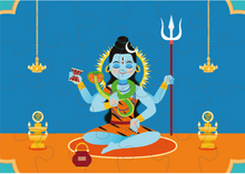 Load image into Gallery viewer, LORD SHIVA PUZZLE