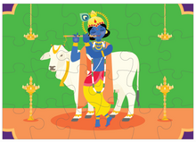 Load image into Gallery viewer, LORD KRISHNA PUZZLE