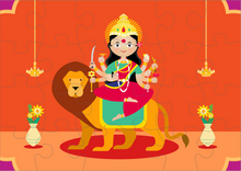 Load image into Gallery viewer, GODDESS DURGA PUZZLE