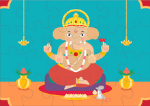 Load image into Gallery viewer, LORD GANESHA PUZZLE