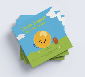 BOOK: LITTLE LADOO'S FIRST TRIP TO INDIA