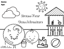 Load image into Gallery viewer, DREAM COLOURING SHEET