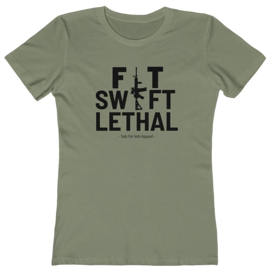 "Fit Swift Lethal ""Boyfriend Tee"""