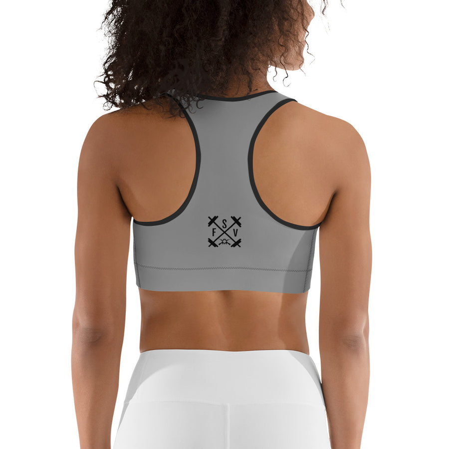 Gung-Ho Sports Bra - Grey