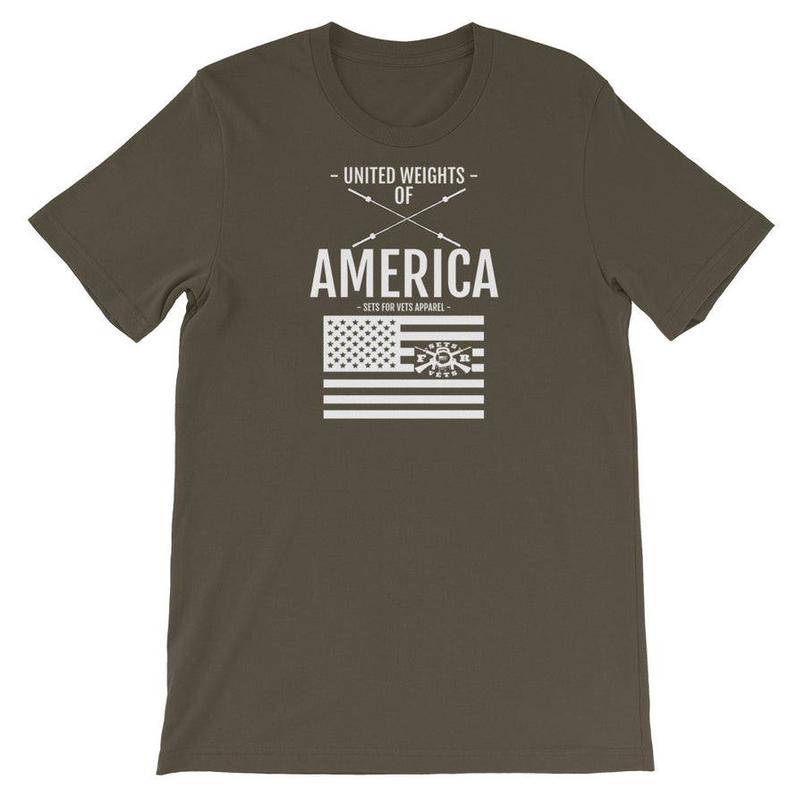 United Weights Of America Tee