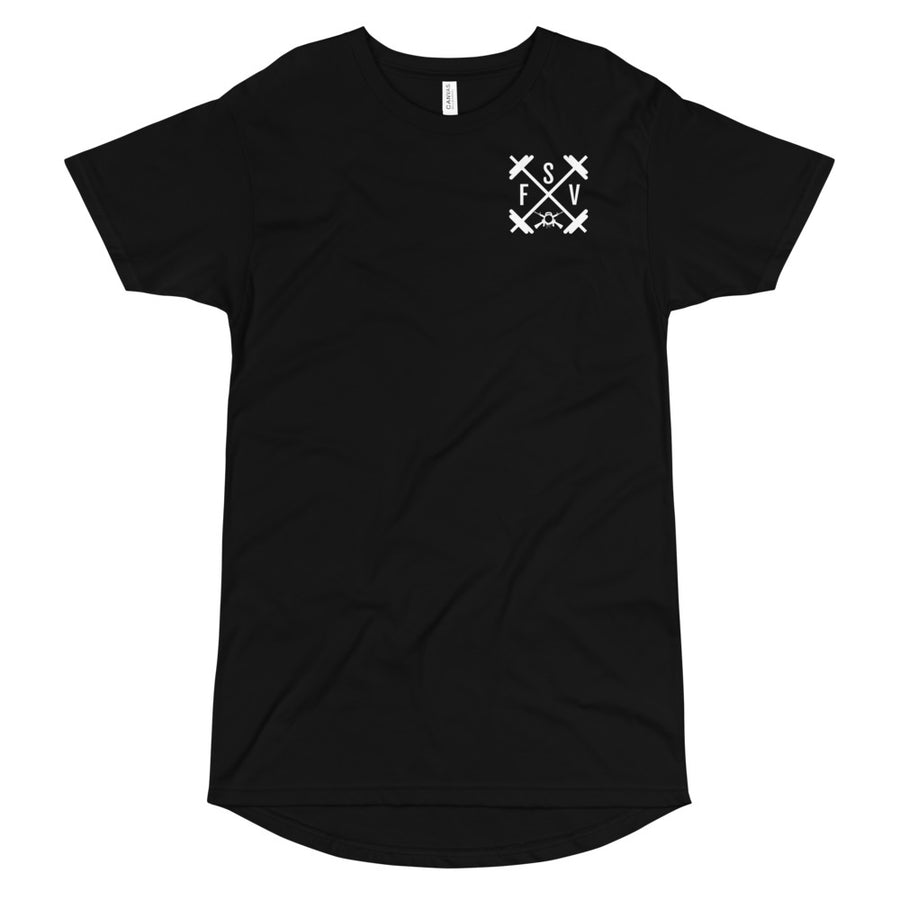 SFV Droptail Tee - Black