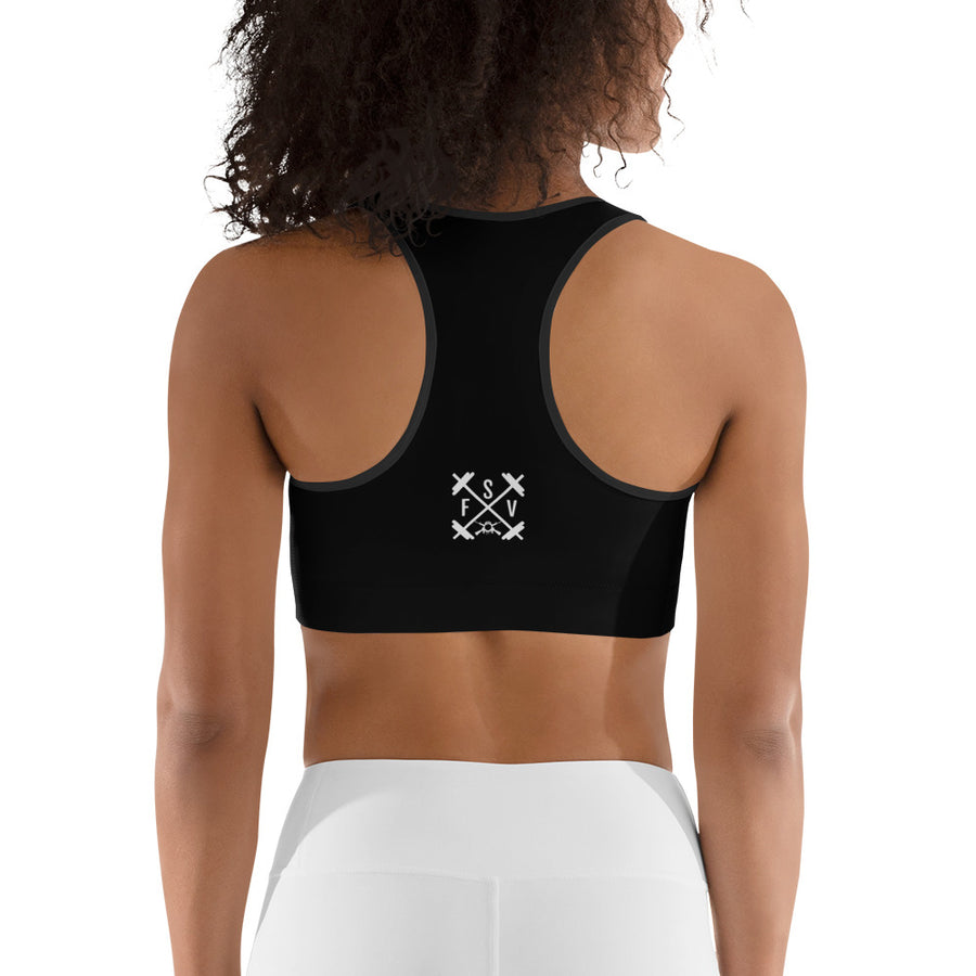 Gung-Ho Sports Bra - Blackout