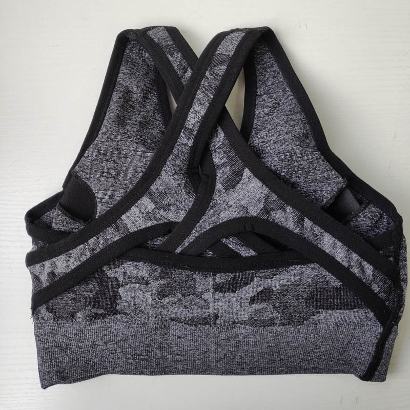 Amelia's Dream Camo Seamless Sports Bra