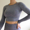 Earhart Cropped Top Long Sleeve
