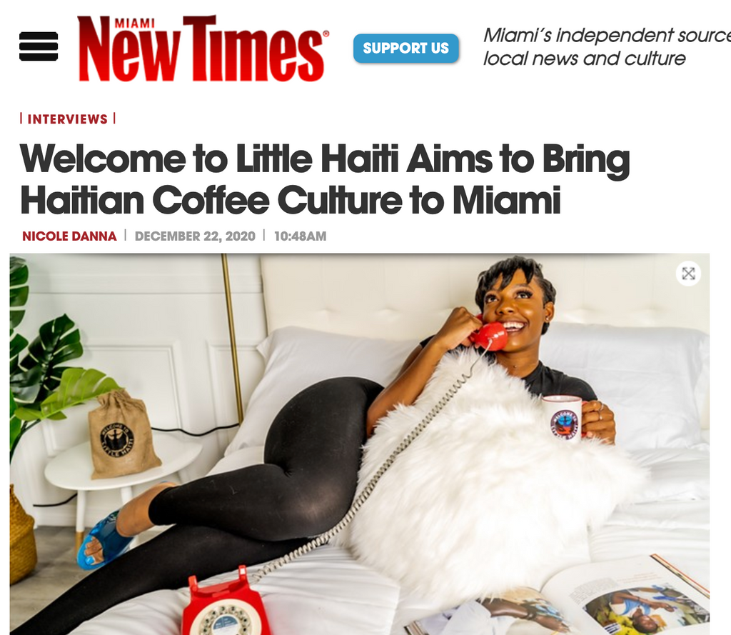 Welcome to Little Haiti Aims to Bring Haitian Coffee Culture to Miami