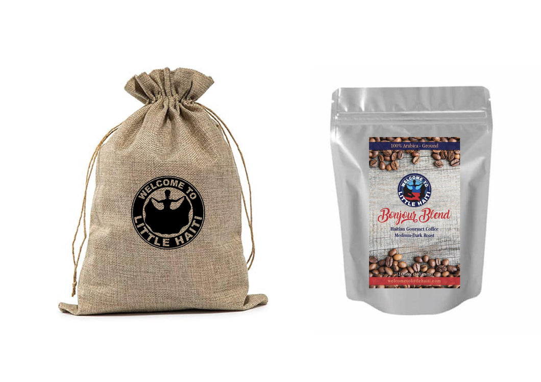 Bonjour Blend Haitian Gourmet Ground Coffee - Welcome To Little Haiti