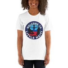 Load image into Gallery viewer, Short-Sleeve Unisex T-Shirt - Welcome To Little Haiti