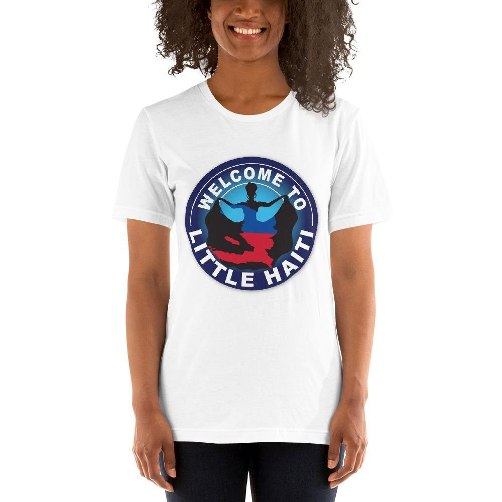 Short-Sleeve Unisex T-Shirt - Welcome To Little Haiti