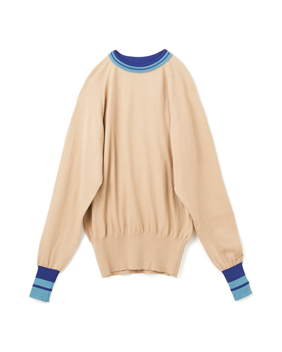 [SALE] Raglan Long Sleeves Knit - 81 M.beige