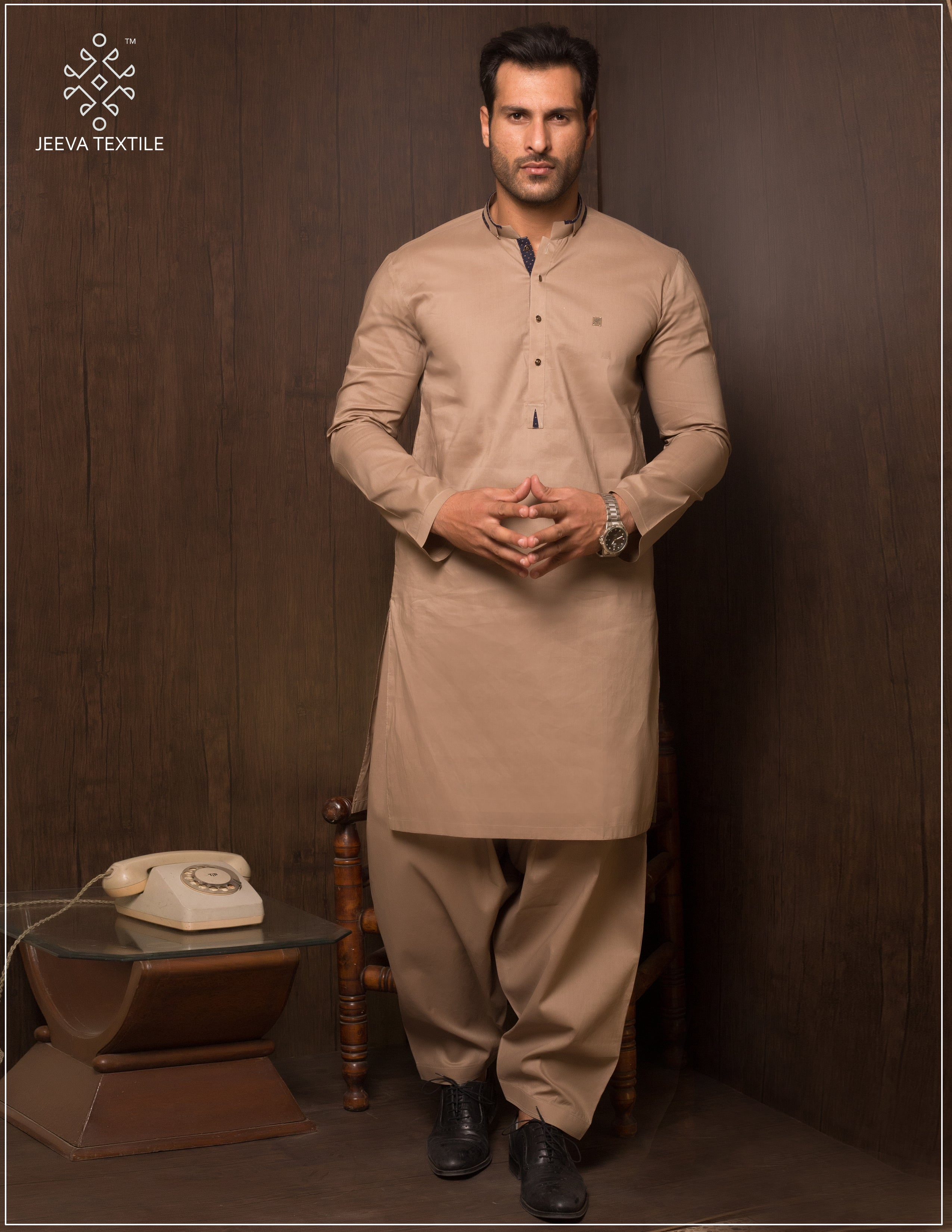 Crown 100% Pure Cotton Shalwar kameez