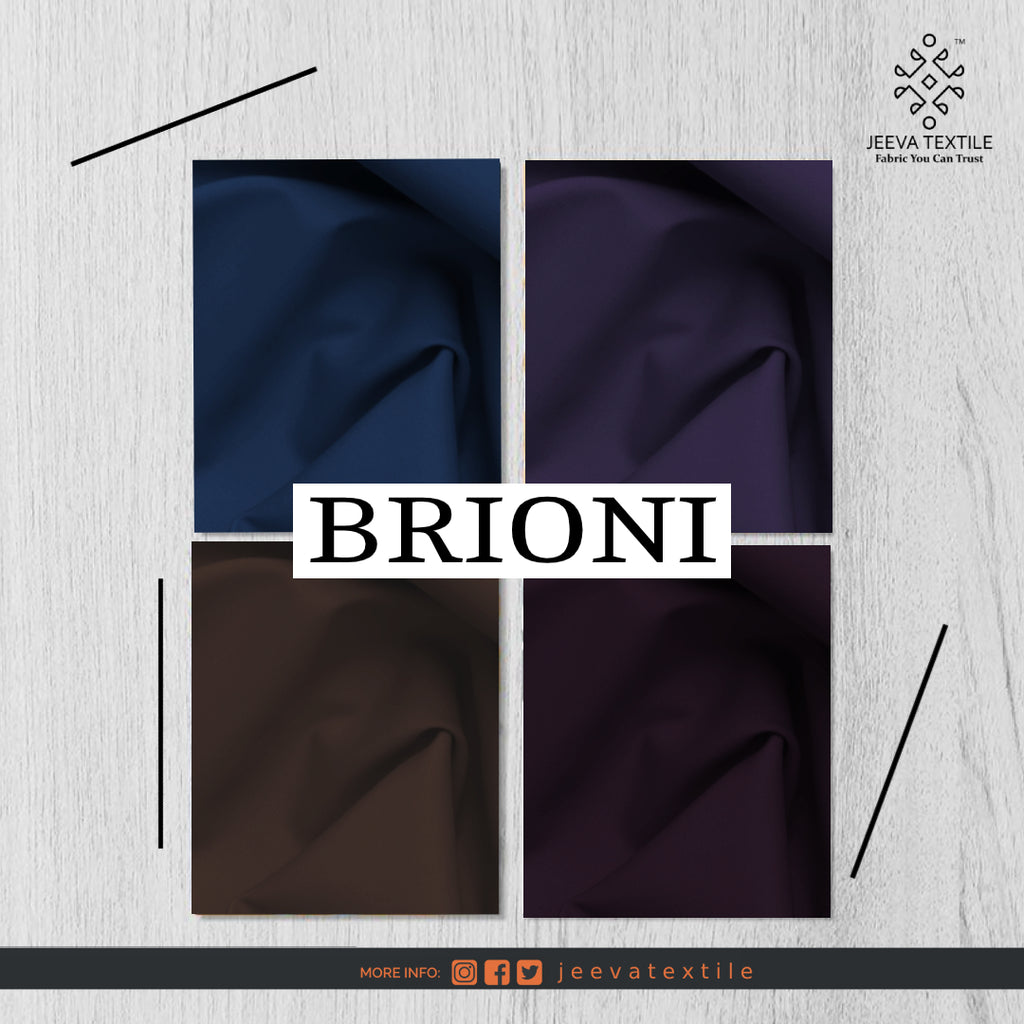BRIONI - Premium Tropical Wash & Wear