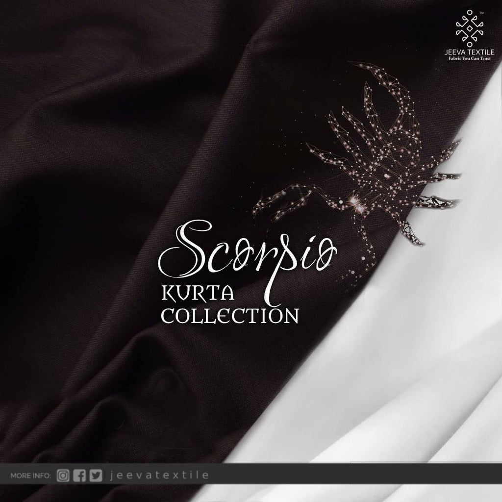 Scorpio Mercerized Blended Kurta