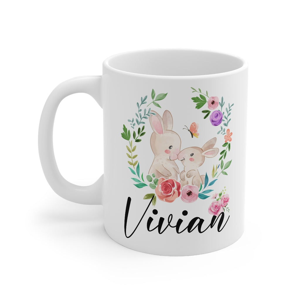 Rabbit Mug - HoneyCustom