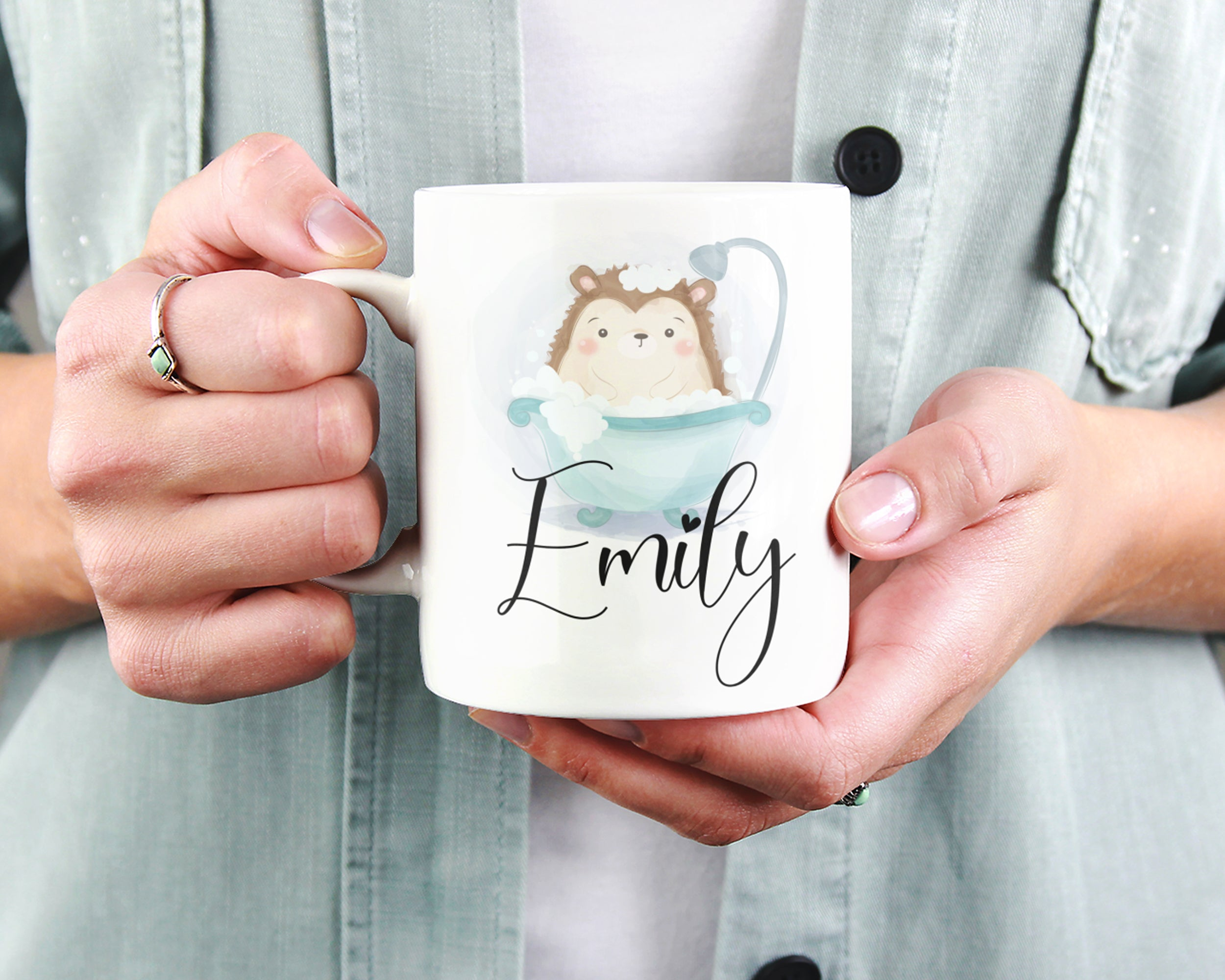 Hedgehog Mug - HoneyCustom