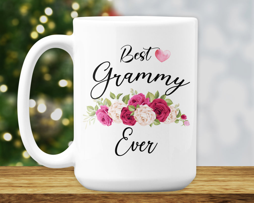 Best Grammy Ever Mug -  Birthday Gifts - Mothers Day - HoneyCustom