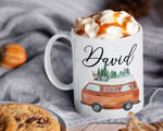 Load image into Gallery viewer, RV Camper Mug - Camping Lover – Personalized Name on Coffee Cup - HoneyCustom