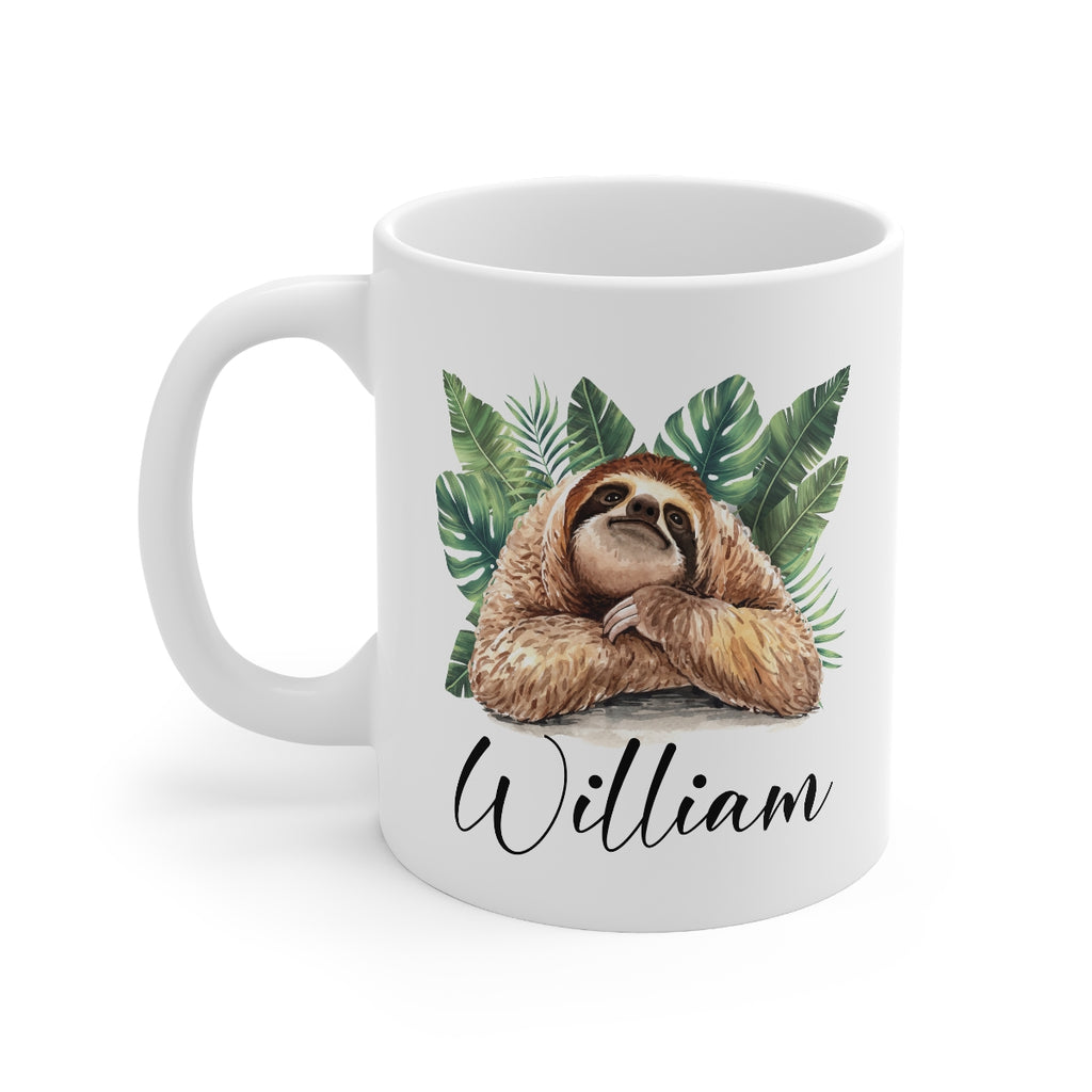 Sloth Mug - HoneyCustom