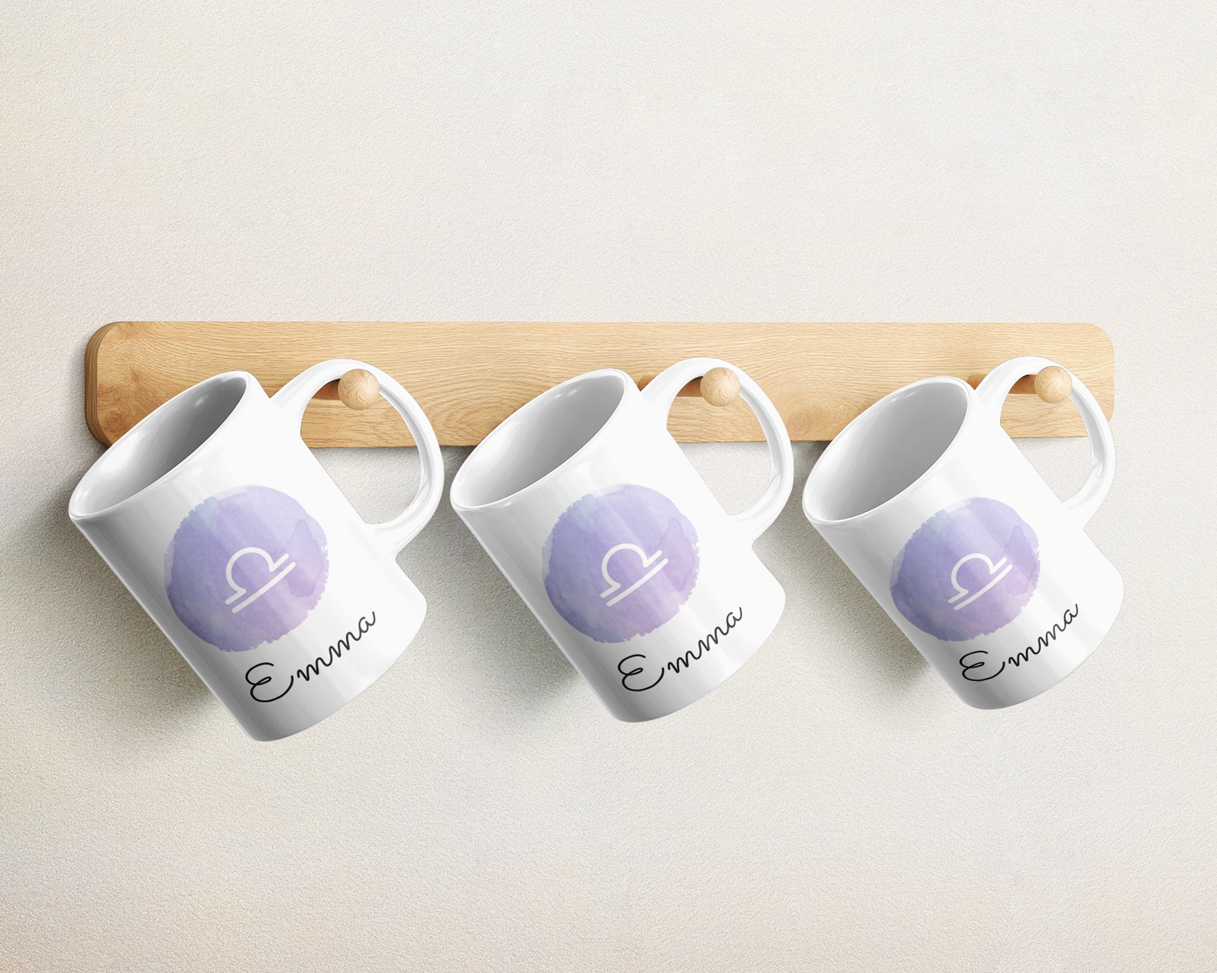 Libra Mug - Zodiac Gifts for Libra - Libra Gifts - Libra Cup - Zodiac Constellation Mug - Libra Constellation Coffee Mug - Zodiac Mug - HoneyCustom