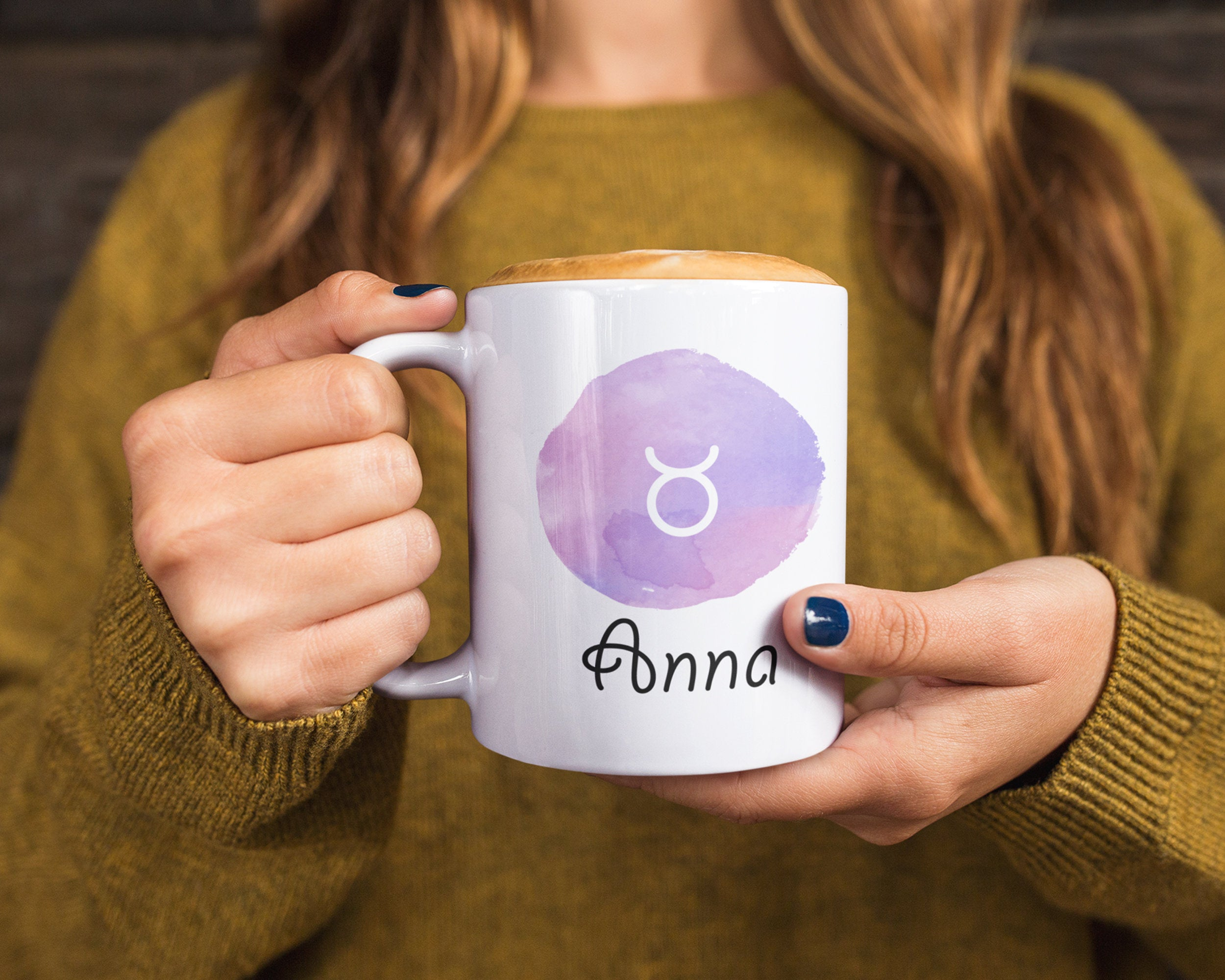Taurus Mug - Taurus Constellation Coffee Mug - Taurus Gifts - Zodiac Gifts for Taurus - Zodiac Mug - Taurus Birthday Gift - Taurus Cup Gifts - HoneyCustom
