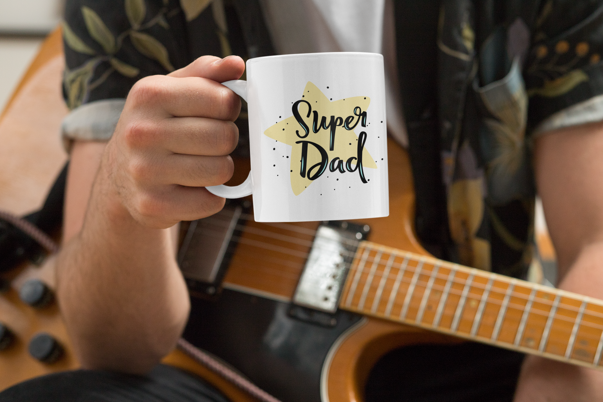 Super Dad Mug - HoneyCustom