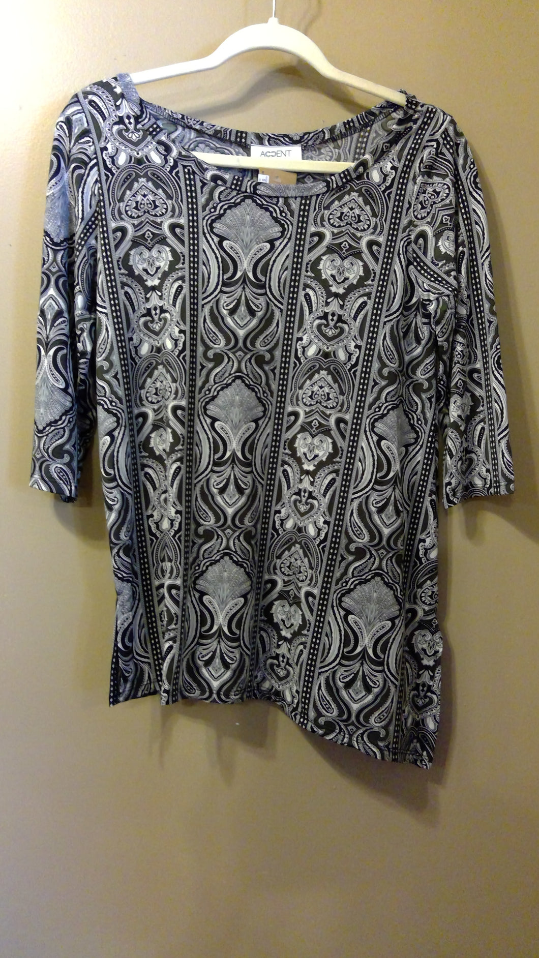 Monochrome Batik Magic Shirt