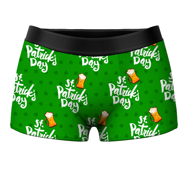 Men's Boxer Shorts - St Patrick's Day - Facesboxeruk