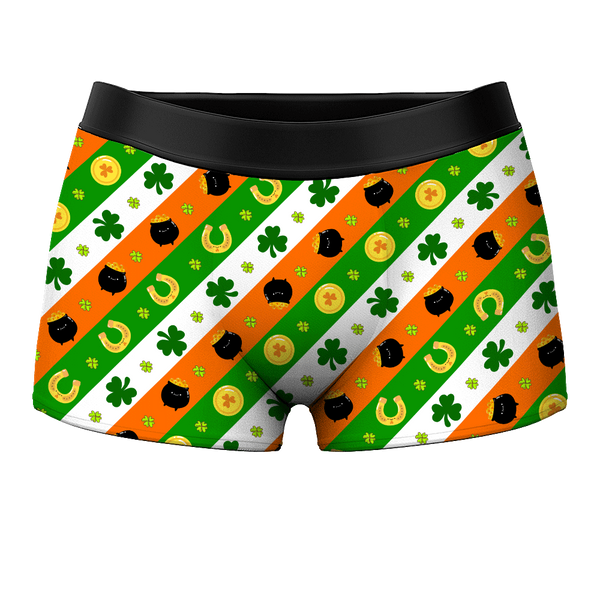 Men's Boxer Shorts - Lucky Gold Pouch - Facesboxeruk