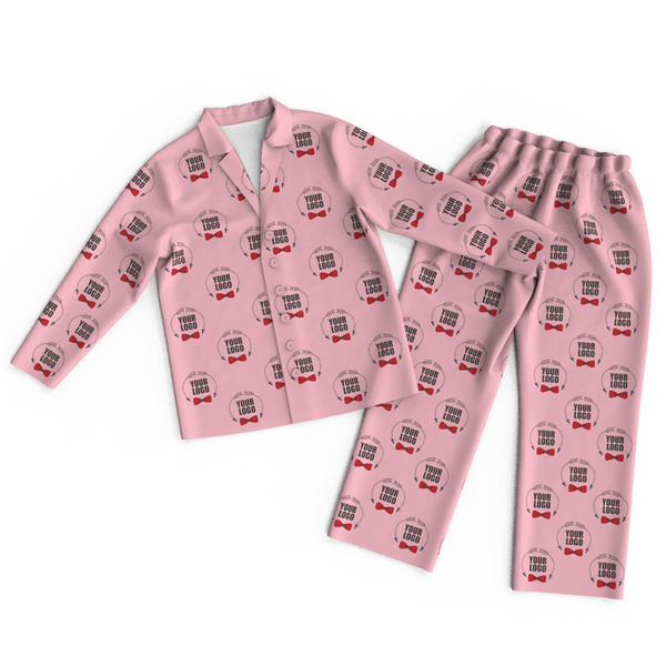Custom Face Logo Pajamas Colorful Personalized Business Gifts