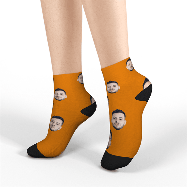 Custom Short Face Socks - MyPhotoSocks