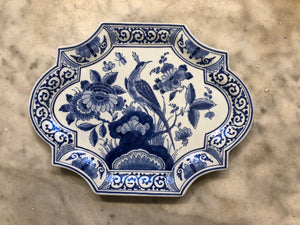 Royal Delft handpainted dutch plaquette/tile