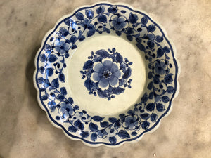 Royal Delft handpainted dutch plate