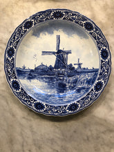 Load image into Gallery viewer, Royal Delft handpainted dutch plate with windmill