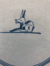 Load image into Gallery viewer, Late 18th century Delft handpainted tile with rabbit, around 1790