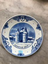 Load image into Gallery viewer, Royal Delft handpainted dutch Christmas plate 1965