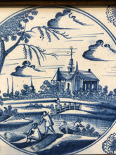 Load image into Gallery viewer, Nice 18 th century delft tile with landscape