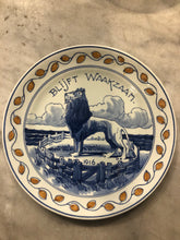 Load image into Gallery viewer, Royal Delft handpainted  ww1 dutch 1918 plate