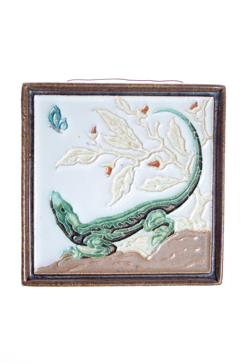 Rare Royal Delft handpainted dutch lizard
